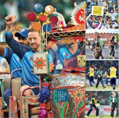 Pakistan's cricketing dawn: Home team beats World XI in Lahore, fans' excitement knows no bounds