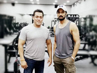 Salman Khan gifts co-star Kichcha Sudeep a new BMW M5 auto