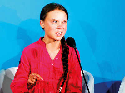 What do you think of the backlash Greta Thunberg is facing for her activism?