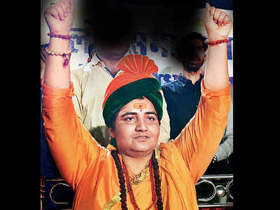 For 3rd time in 3 months, Pragya puts BJP in a spot