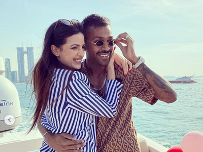 Photos: Hardik Pandya meets fiancée Natasa Stankovic's parents for the first time
