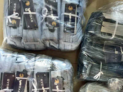 CID conducts raids on fake branded clothes outlets