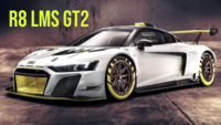 Audi reveals R8 LMS GT2 race car at Goodwood festival of speed