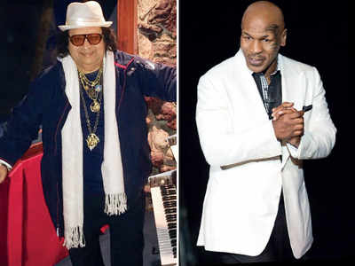 Bappi Lahiri composes a song for Mike Tyson