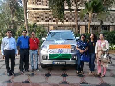 Mumbai man sets off to London by road; aims to create awareness about organ donation