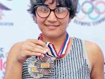 Pragnya picks two medals