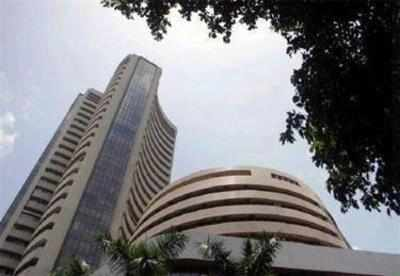 Sensex drops most in one month, banks take a beating