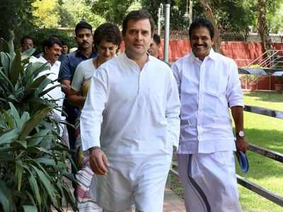 Congress Working Committee meet: Rahul Gandhi offers to resign as Congress president