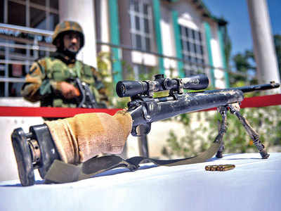 Sniper rifle, IEDs found along yatra route