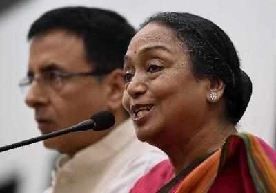 Presidential nominee Meira Kumar dials Arvind Kejriwal