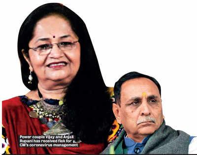 Gujarat CM Vijay Rupani faces flak from Centre for botched Covid-19 handling