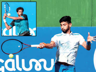 Bengaluru Open: Wild card entrant Niki Poonacha knocks out Lucas Rosol
