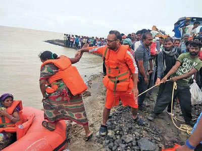 NDRF rescues 165 in Saurashtra, Kutch