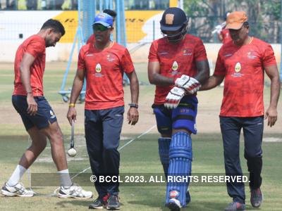 Mumbai's practice for Vijay Hazare Trophy hit with Bapuna Cup washout
