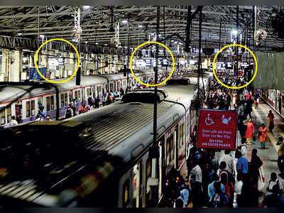 New CR indicators leave commuters squinting, sprinting