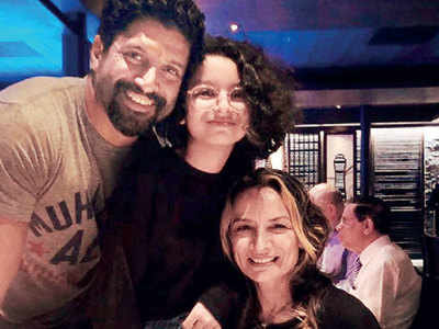 Farhan Akhtar celebrates daughter Akira's birthday