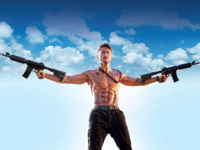 Tiger Shroff had to run through live explosions, duck tanks, hang from helicopters and brandish weapons for Baaghi 3