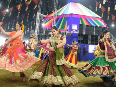 Navratri 2018: Best pictures of garba from Surat and Vadodara