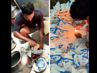 Two milk adulteration rackets busted; six held