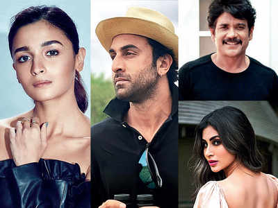 Ranbir Kapoor, Alia Bhatt, Nagarjuna, Mouni Roy come together for a 10-day shoot of Brahmastra in Mumbai