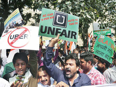 What's fuelling cabbies' strike?