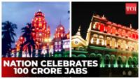 100 cr doses: Heritage sites illuminated