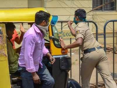 Man shot in leg, another arrested for violating lockdown in Karnataka