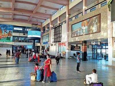 Railway platform ticket become 5 times costlier