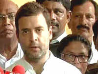 People of India want the resignations of 'tainted' ministers: Rahul Gandhi