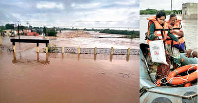 Trio stuck on roof rescued by NDRF team after 16 hours