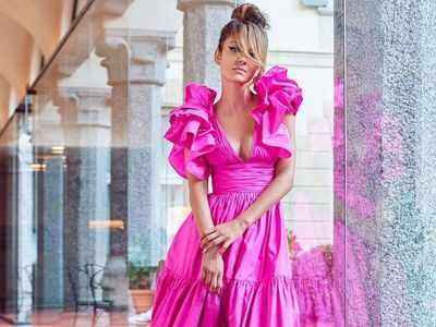 Natasha Poonawalla attends Milan Fashion Week