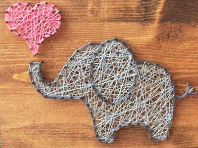 PLAN AHEAD: Learn string art