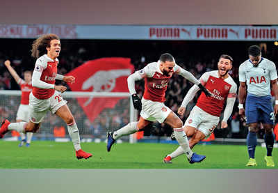 Arsenal comes out on top against rivals Tottenham Hotspur
