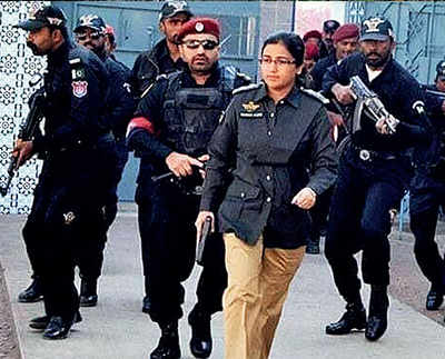 Karachi woman officer foils attack at Chinese consulate