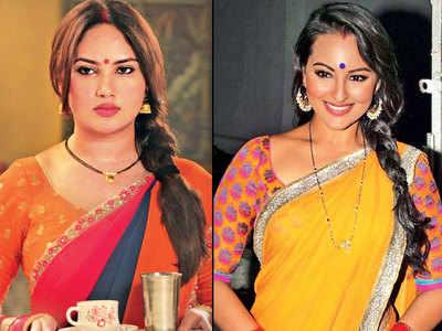 Sonakshi Sinha finds a twin in Kamna Pathak