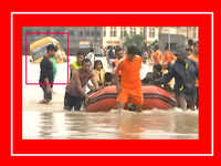 Narrow escape for school kids in Nagpur, school bus gets stuck due to waterlogging