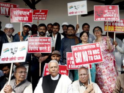 Yashwant Sinha-led anti-CAA rally to reach Agra on Saturday