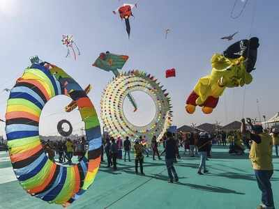 Nationals from 45 countries take part in kite festival