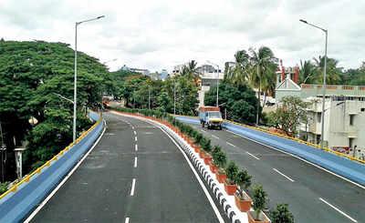 Manjunatha Nagar flyover will be open in September
