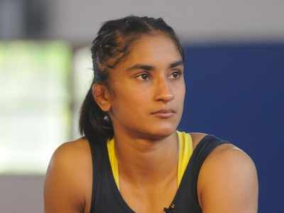 Vinesh Phogat bags gold medal at Yasar Dogu International