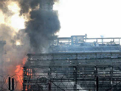 BPCL refinery blaze: Metal from portacabins led to maximum injuries