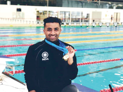 Bengaluru para swimmer wins 5 gold medals in Norway