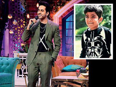 Ayushmann Khurrana doesn't want son Virajveer to watch his films