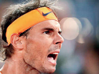 Rafael Nadal: I care about feeling well and playing well.