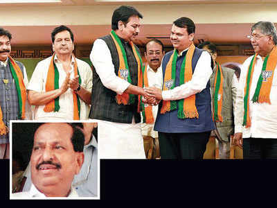 Congress, NCP lose 2 heavyweights to BJP