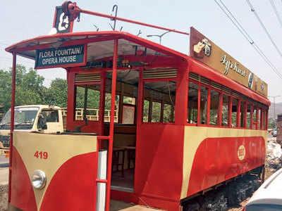 Heritage tram finally gets parking
