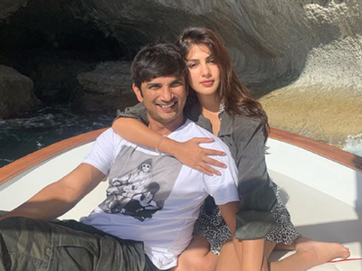 Rhea Chakraborty shares adorable pictures on Sushant's 34th birthday