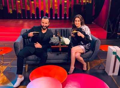 Sara Ali Khan shares Koffee With Karan couch with Saif Ali Khan, opens up about Kareena Kapoor and her own battle with PCOD