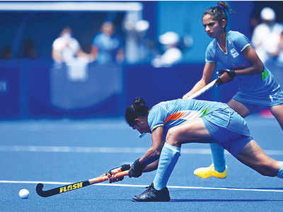 Indian women fall 4-3 to Britain, miss bronze medal by a whisker