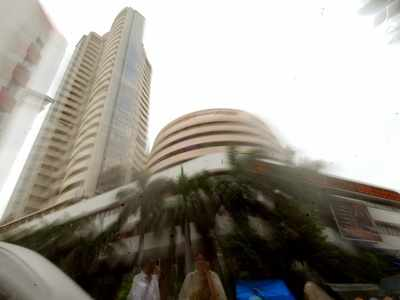 Sensex falls by 383 points, Nifty closes at 10,948 as bank stocks underperform